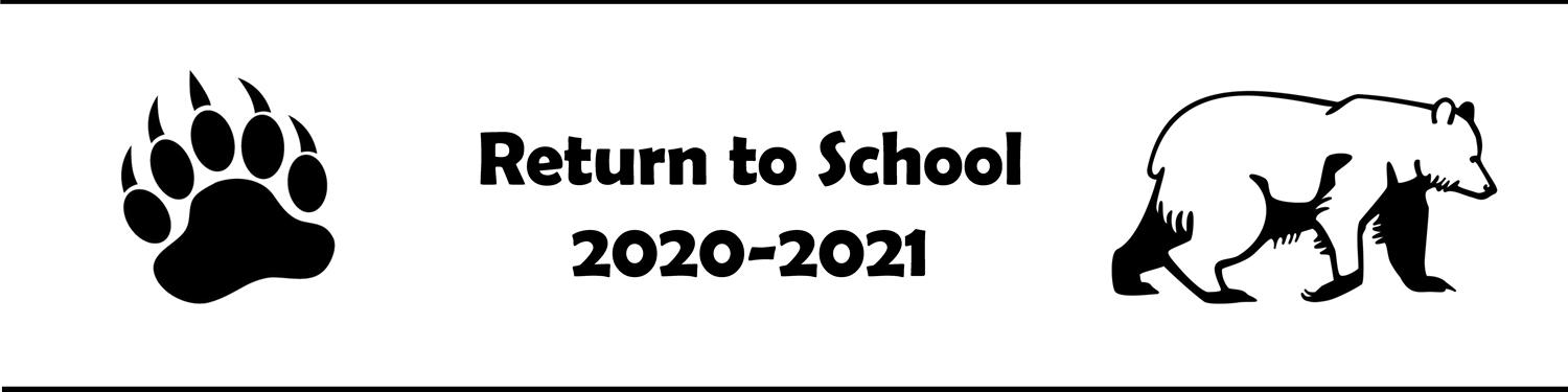 Return to School 2020-2021