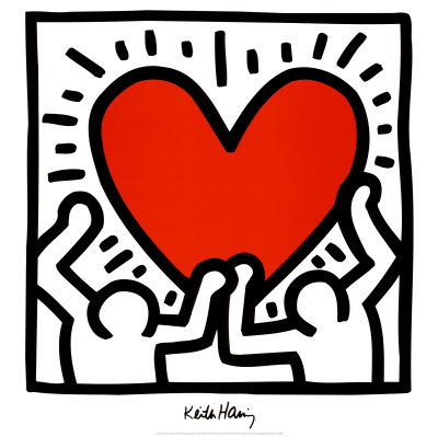 Keith Haring (Untitled, early 1980s).  Haring was born in nearby Kutztown and made his fame in NYC.