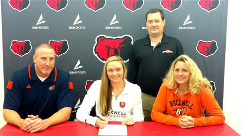 Senior Abby Kapp has signed her National Letter of Intent to play Division I basketball at Bucknell University.